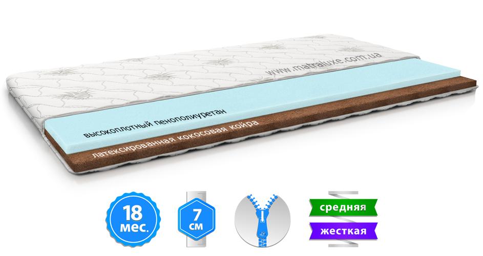 Детский матрас BUNNY KOKOS 2in1 / БАННИ КОКОС 2в1