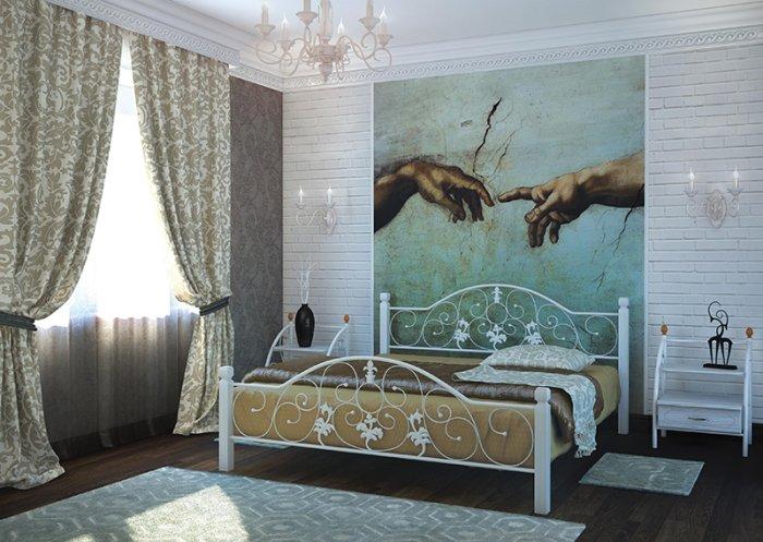 Кровать Металл-Дизайн ЖОЗЕФИНА ВУД